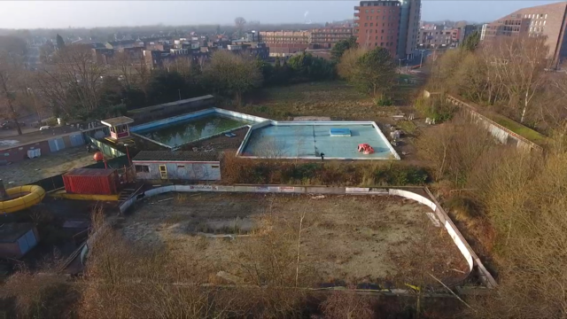 zwembad oud gastel